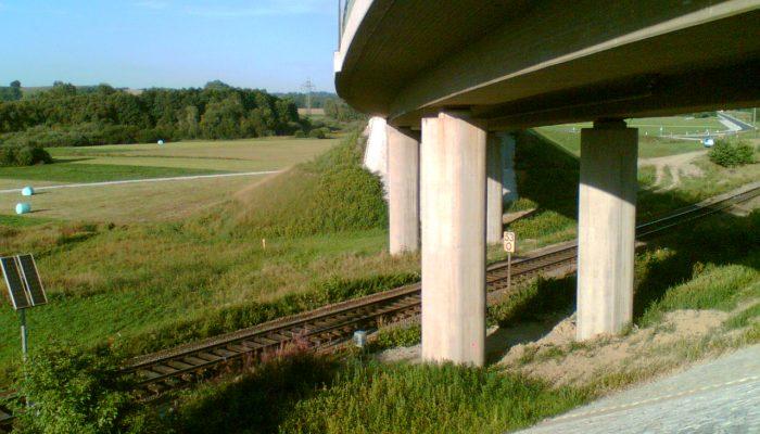 Vermessung einer Brücke